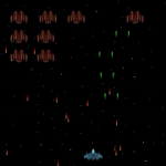 Galaxian Style HTML5 Game