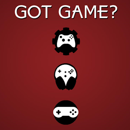 Got Game banner showing icons for developers, composers, and artists