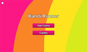 Main menu to the game.
